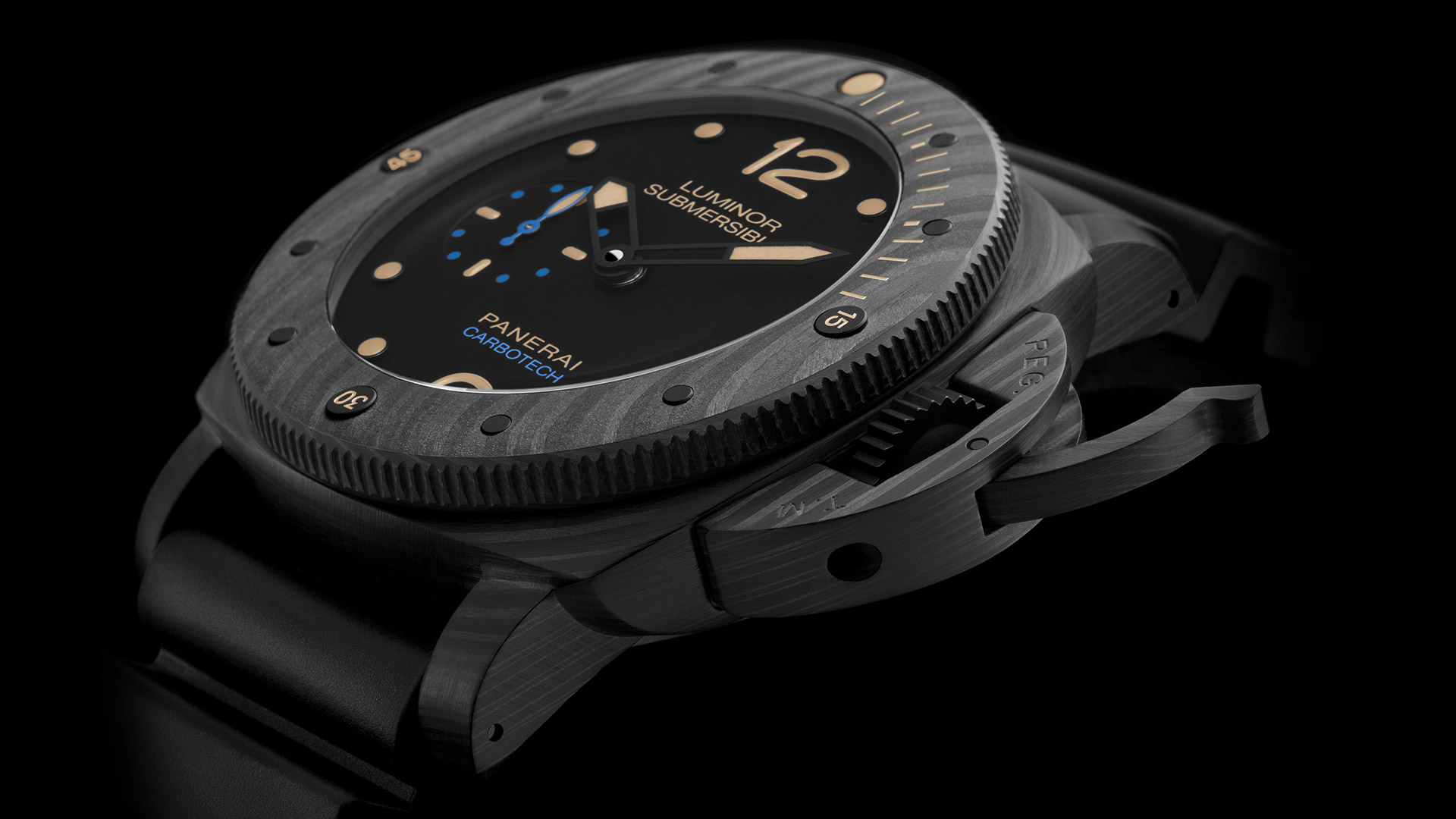 PANERAI LUMINOR SUBMERSIBLE 1950 CARBOTECH™ - 3 DAYS AUTOMATIC 47 mm - PAM00616