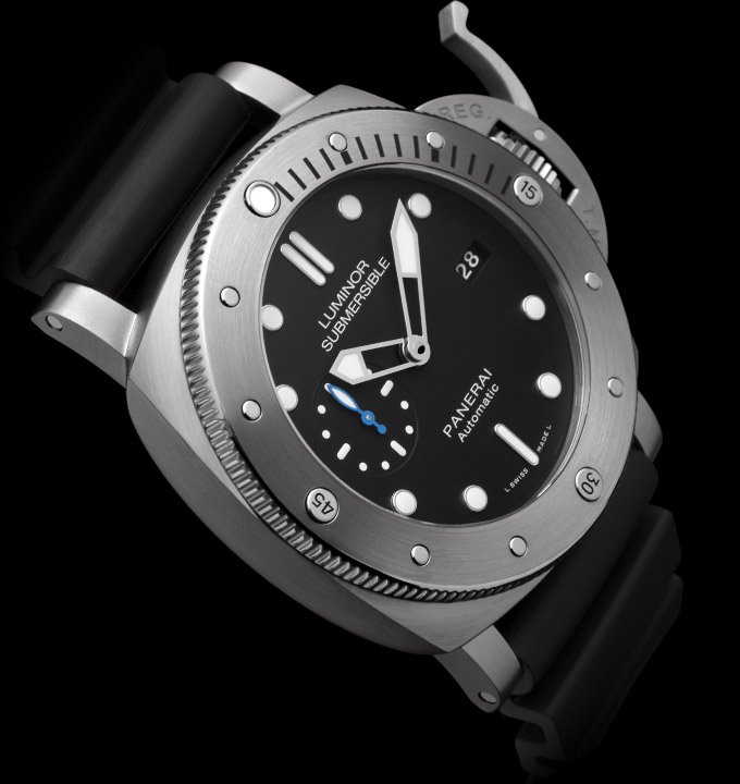 PANERAI LUMINOR SUBMERSIBLE 1950™ - 3 DAYS automatic titanio 47 mm - PAM01305
